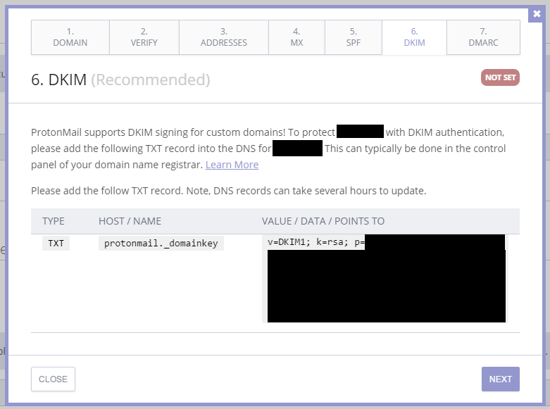 Next step is DKIM signing, which prevents spoofing (aka spammers can't pretend they're you).